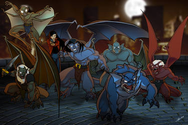 We are GARGOYLES, print by AlexDeB