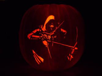 Thief Pumpkin by ceemdee