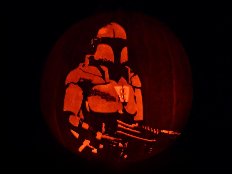 Crusader: No Remorse Pumpkin by ceemdee