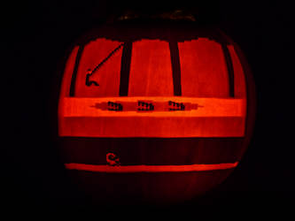Pitfall Pumpkin by ceemdee