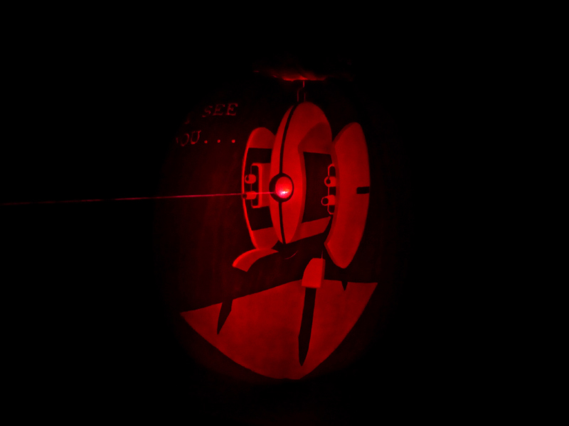 Turret Pumpkin by ceemdee