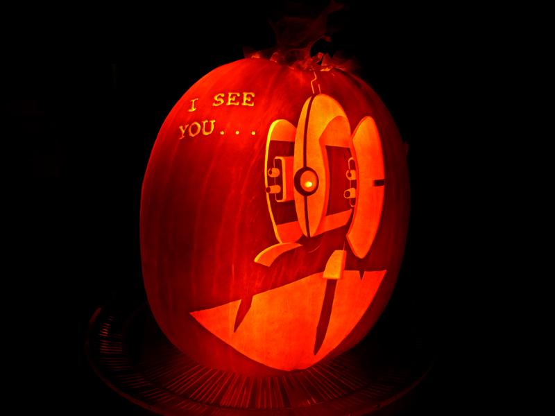 Turret Pumpkin 4 by ceemdee