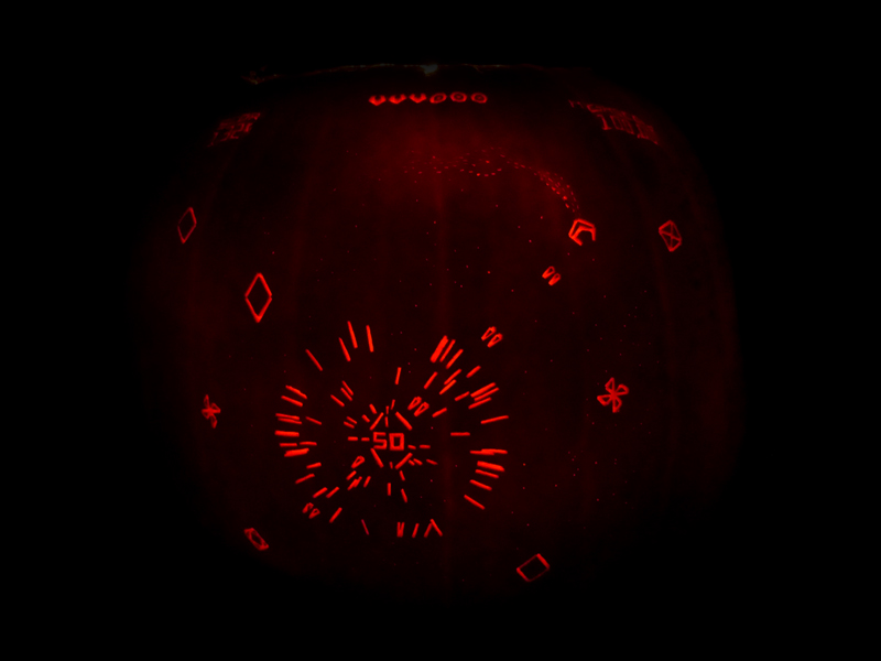 Geometry Wars Pumpkin by ceemdee