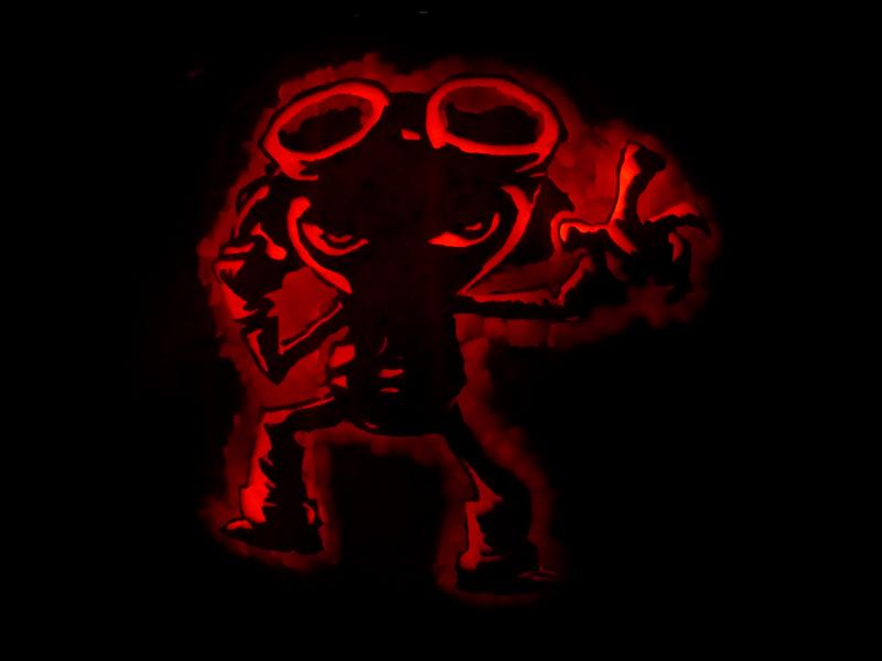 Psychonauts Pumpkin by ceemdee