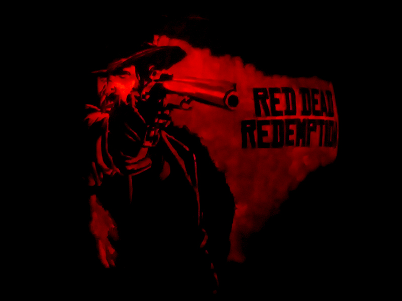 Red Dead Redemption Pumpkin by ceemdee