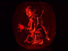 Beyond Good and Evil Pumpkin by ceemdee