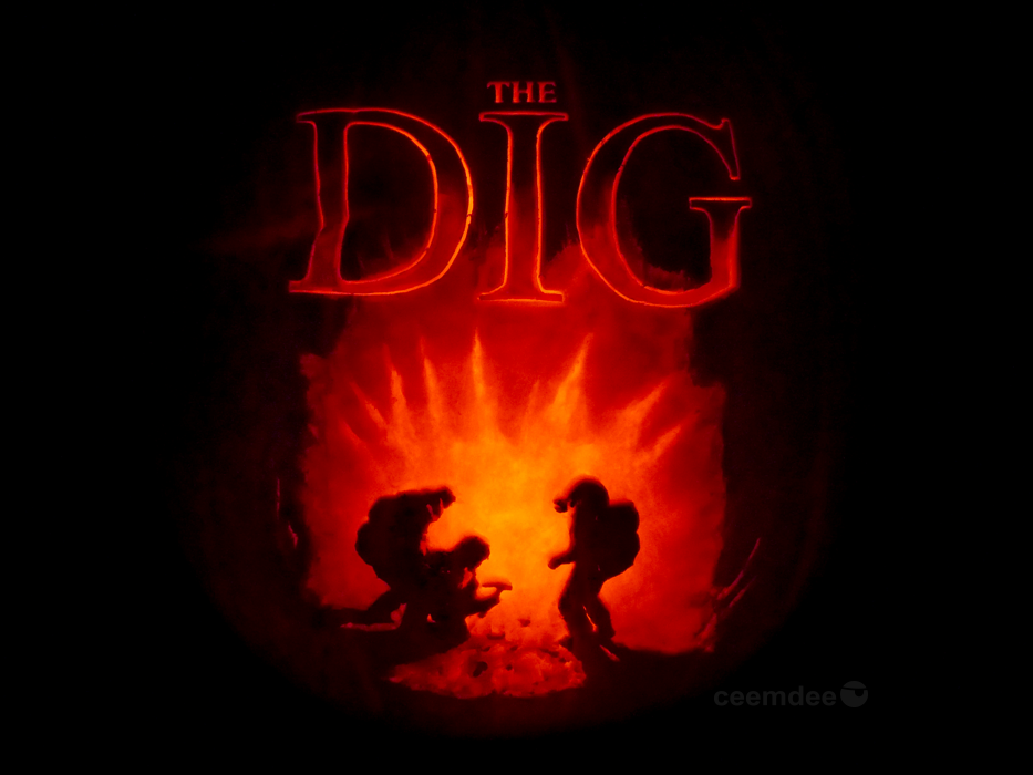 The Dig Pumpkin by ceemdee