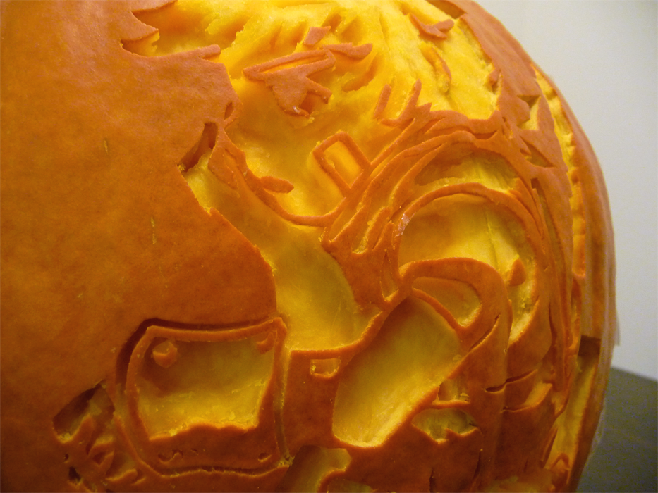 Bastion Pumpkin Detail by ceemdee