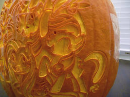 My Little Pumpkin Detail by ceemdee