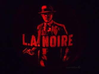 L.A. Noire Pumpkin by ceemdee