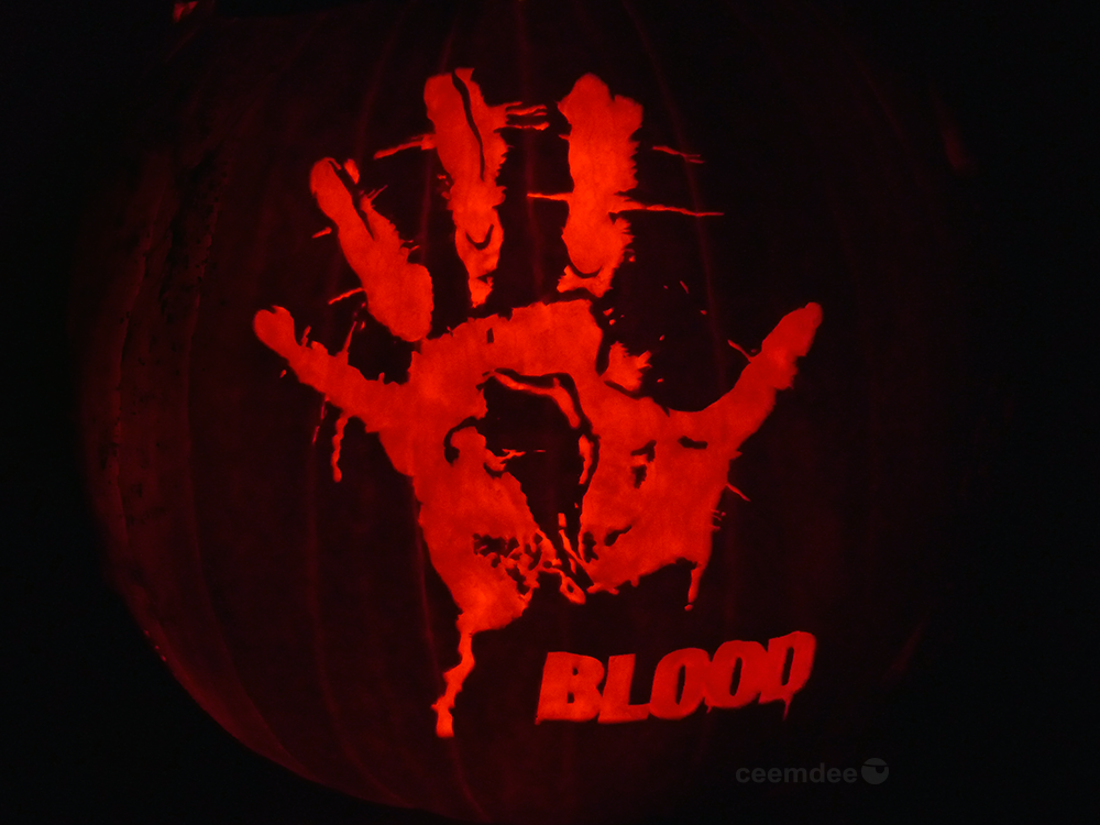 Blood Pumpkin by ceemdee