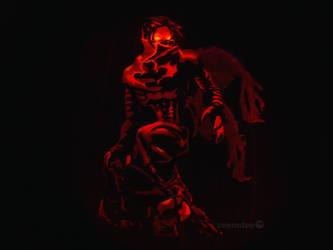 Soul Reaver Pumpkin by ceemdee