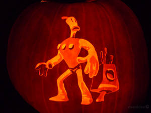 The Neverhood Pumpkin