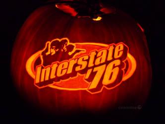 Interstate '76 Pumpkin by ceemdee