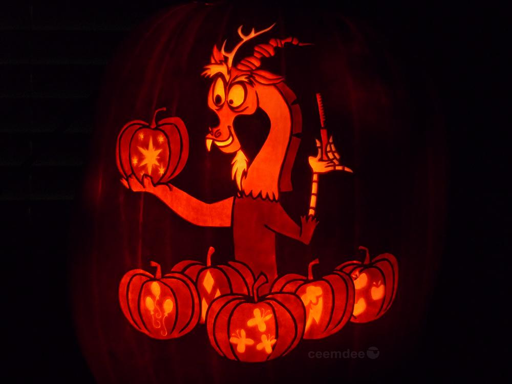 Discord Pumpkin by ceemdee