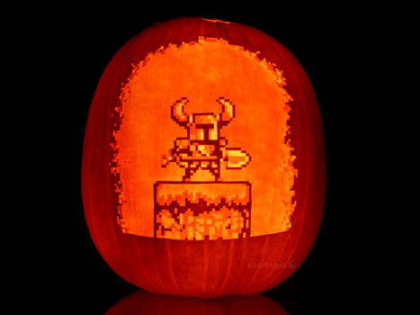 Shovel Knight Pumpkin
