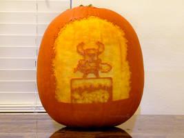 Shovel Knight Pumpkin 2 by ceemdee