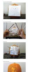 How to carve a pumpkin by ceemdee