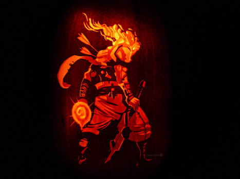 Dead Cells Pumpkin