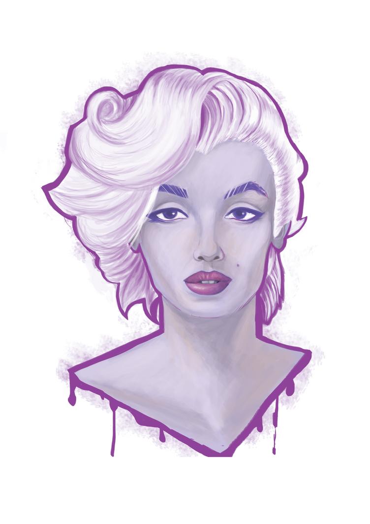 Marilyn Monroe by FreeDaum