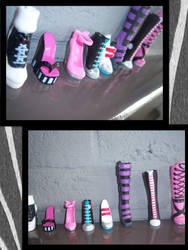 Shoes shoes, shoes shoes, shoes!! by MosterXHighXFreaks