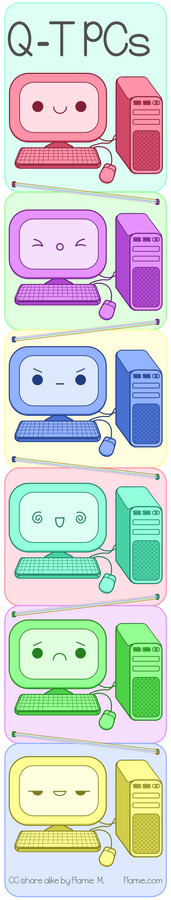 Q-T PCs (Kawaii PCs)