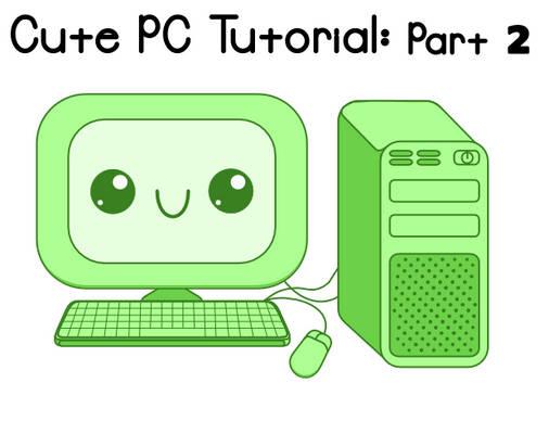 Cute PCs Inkscape Tutorial Preview 2
