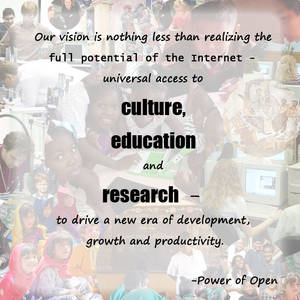 Creative Commons Quote from Power of Open
