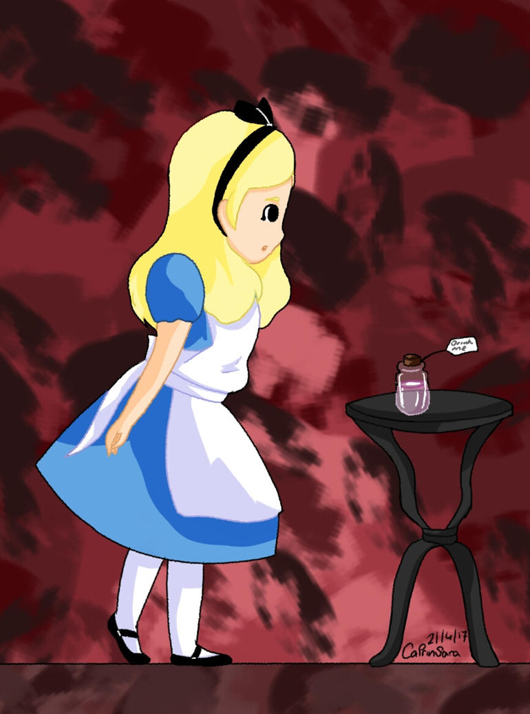 Alice and the Poison Bottle by CatrinSara