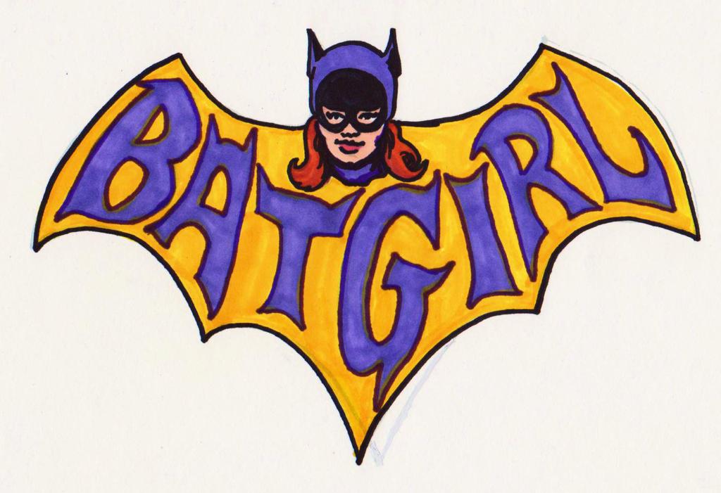 It is a picture of Légend Batgirl Logo Printable