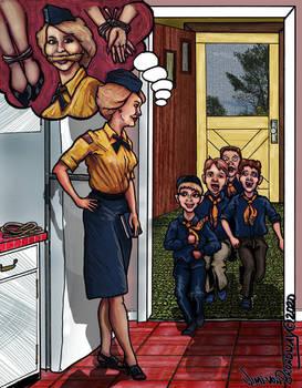 Den Mother 009 When School Started Back Up