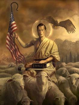 Saint-Colbert and his flock