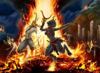 Magic the Gathering: Impulsive Return by CVDH by tegehel