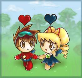 Subaru and Luna, ChaoMish