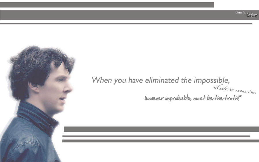 Sherlock Holmes Quotes By Ideazonetimer On Deviantart