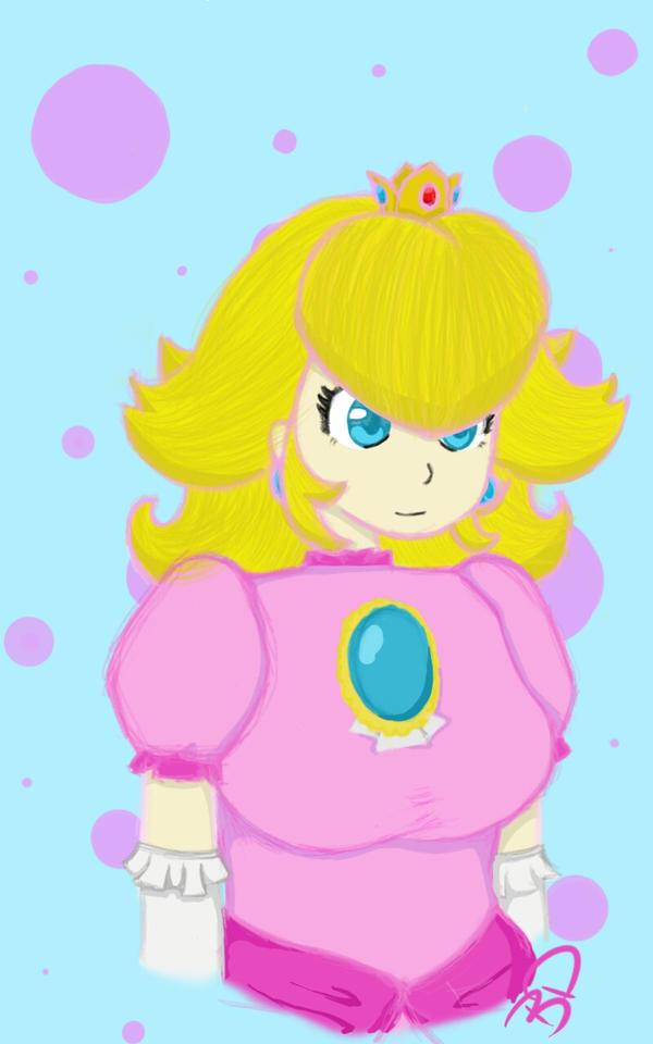 Princess Peach by ezelllohar