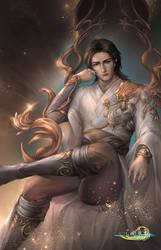 The worried king, Gujian 3 by EdenChang