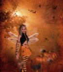 Halloween Fairie by pixievamp