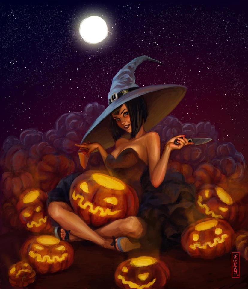 Happy Halloween by Tsvetka