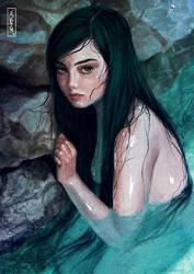 Bather by Tsvetka