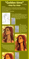 Golden time - step by step