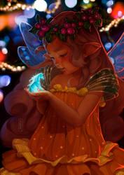 Baby elf and the Magic Unicorn