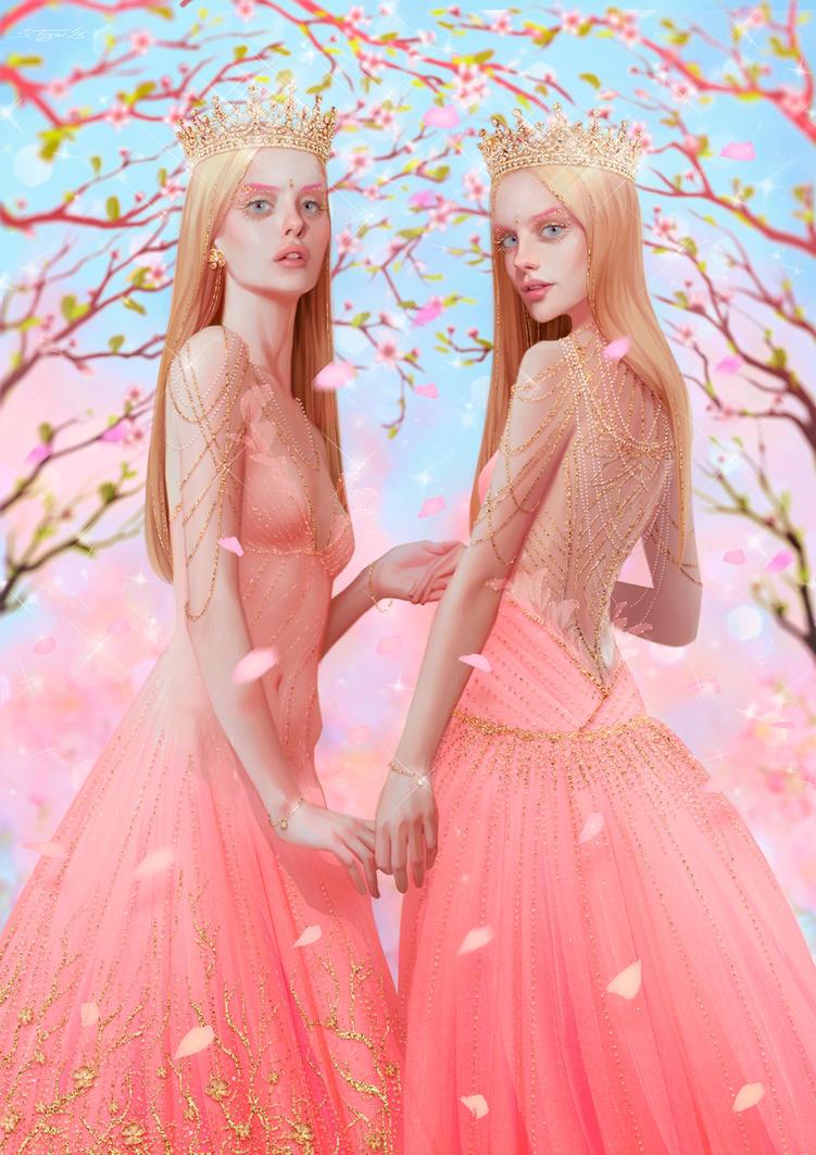 Her fearful symmetry by Tsvetka