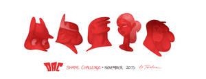 Shape Challenge   November 2015 by Tsvetka