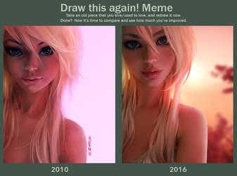 Draw this again by Tsvetka