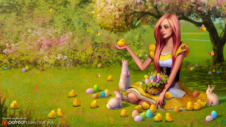 Fluttershy wishes you a happy Easter