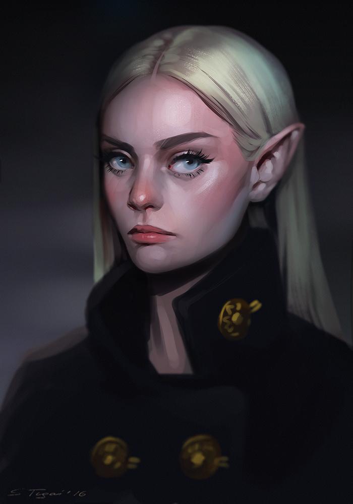 Grumpy Elf by Tsvetka