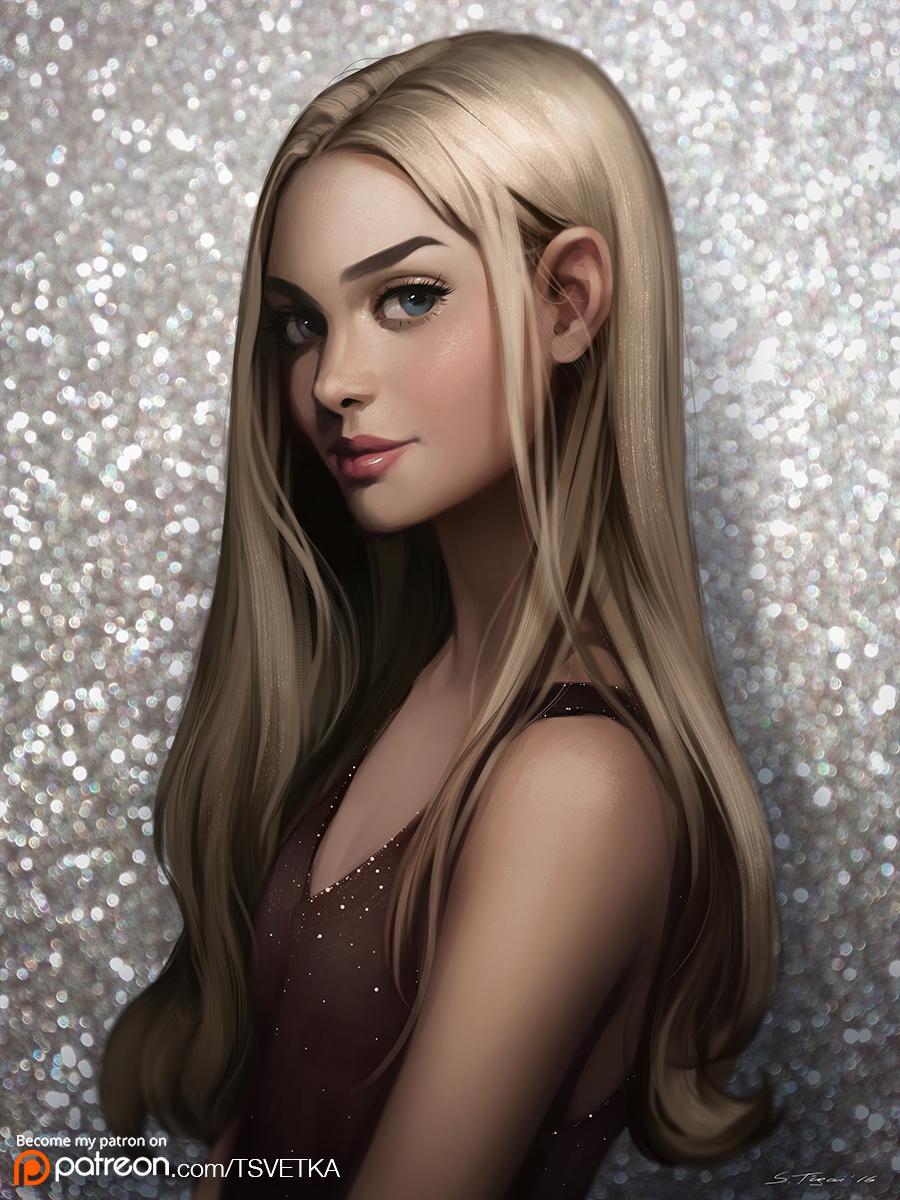 Blonde Hair Stars 97