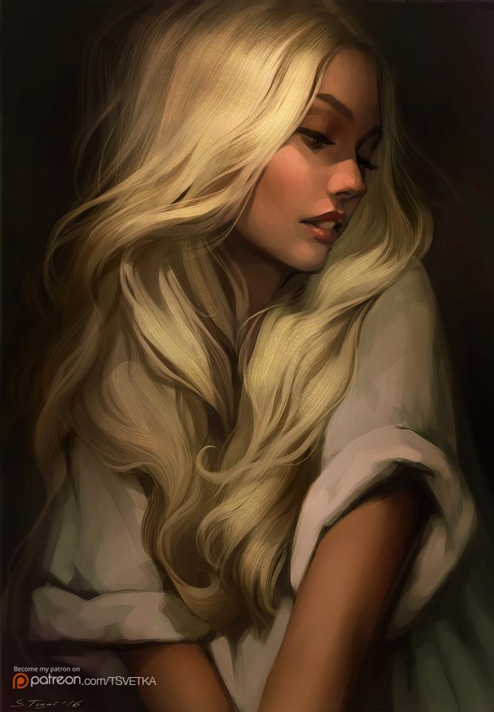 Golden Hair By Tsvetka On Deviantart