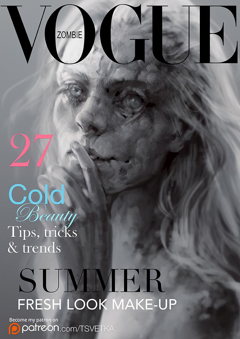 Vogue Zombie by Tsvetka